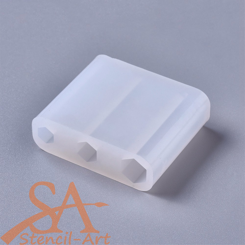 Silicone Resin Mould – Hexagonal Prism 3 Sizes