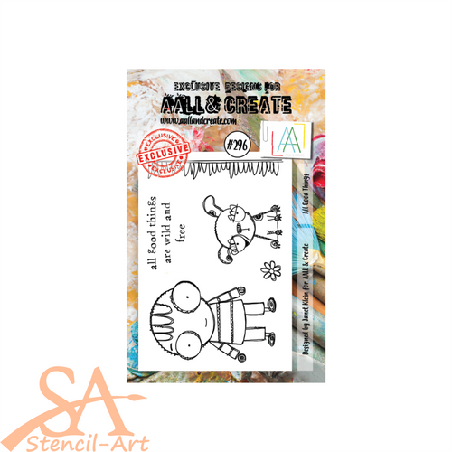 AALL & Create A7 Clear Stamp Set ALL GOOD THINGS #296
