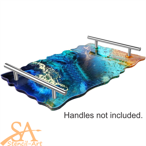 Silicone Mould - Geode Tray 397x250x4mm