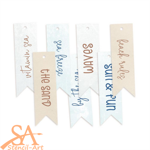 P13 Cardstock Tags 02 Beyond The Sea #P13SEA22