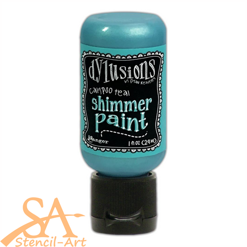 Dyan Reaveley's Dylusions Shimmer Paint 29ml CALYPSO TEAL #DYU74380