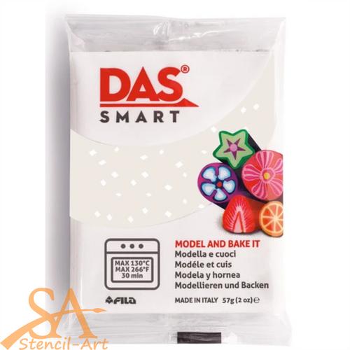 DAS Smart 57g – White Glitter #321301