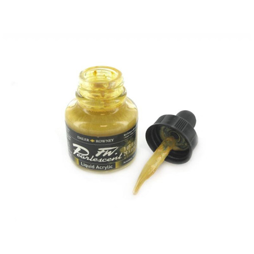 FW Pearlescent Ink 29.5ml - Bell Bronze #110