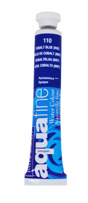 Aquafine Watercolour 8ml tube – Cobalt Blue #110