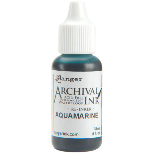 Archival Re-Inker 18ml – Aquamarine