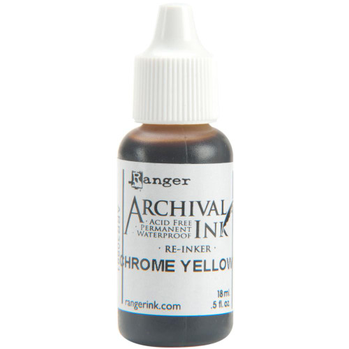 Archival Re-Inker 18ml – Chrome Yellow