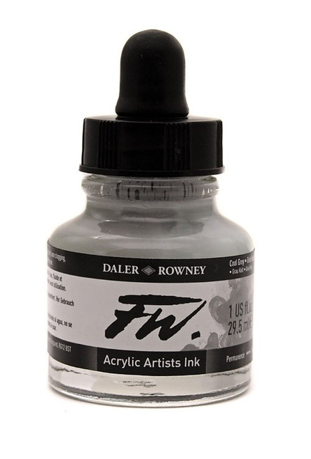 FW Acrylic Artists' Ink 29.5ml - Cool Grey #053