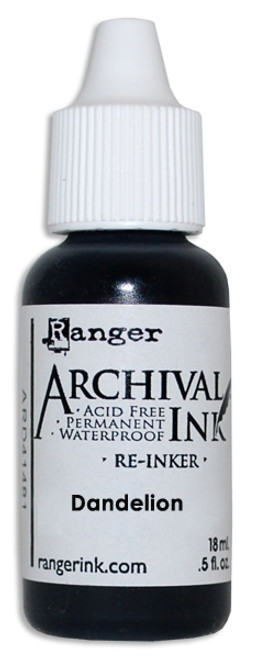 Archival Re-Inker 18ml – Dandelion