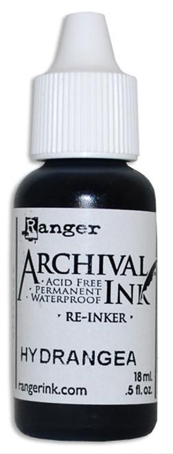Archival Re-Inker 18ml – Hydrangea