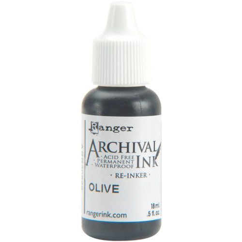 Archival Re-Inker 18ml – Olive