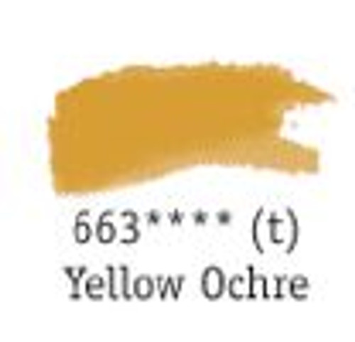 Aquafine Watercolour 8ml tube – Yellow Ochre #663
