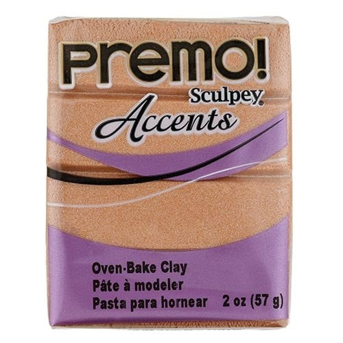 Premo! Sculpey Accents Polymer Clay - Copper #5067