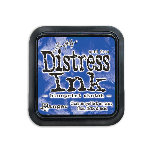Tim Holtz Distress Ink Stamp Pad – Blueprint Sketch