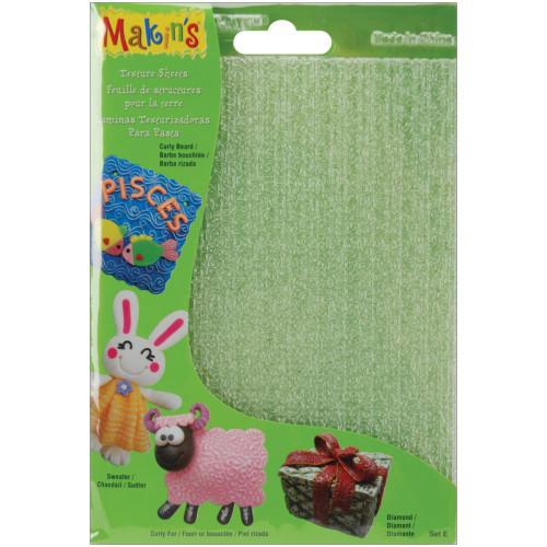 Makin's Clay Texture Sheets 4/Pkg – Set E #38005