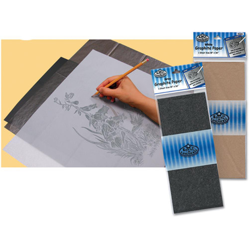 Royal & Langnickel Graphite Paper 1/Pkg - White