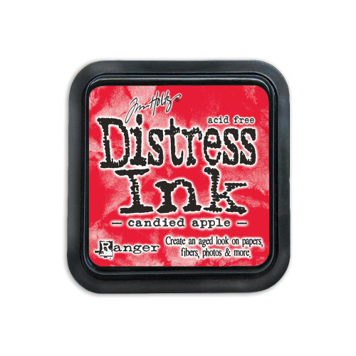 Tim Holtz Distress Ink Stamp Pad – Candied Apple