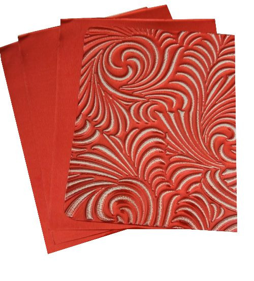 Creative Craft Metal Sheets 20x30cm 2/pkg – Lovers Red