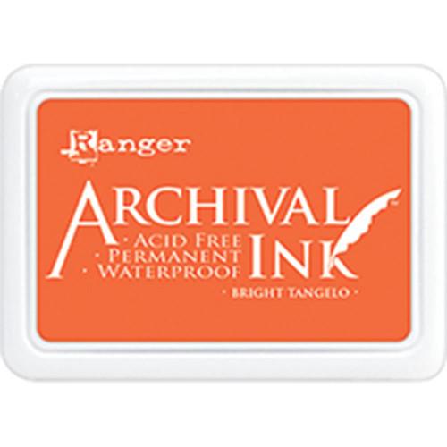 Ranger Archival Ink Pad – Bright Tangelo