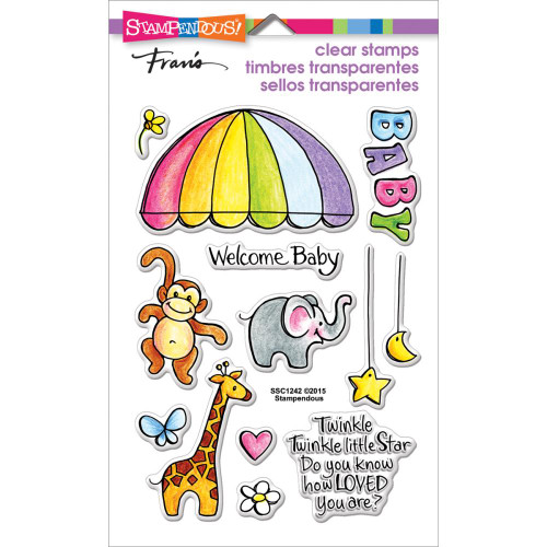 Stampendous Clear Stamp Set – Animal Mobile SSC1242