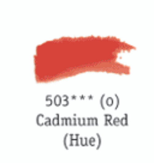 Aquafine Watercolour 8ml tube – Cadmium Red (Hue) #503