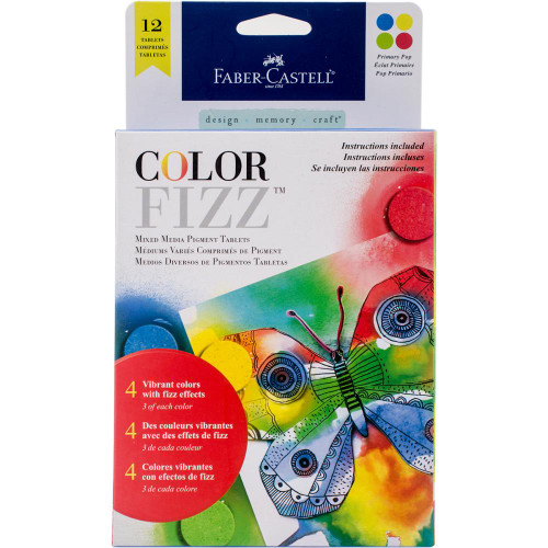 Faber-Castell Color Fizz 12/pkg - Primary Pop