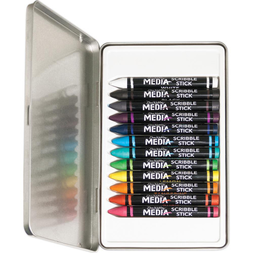 Dina Wakley Media Scribble Sticks Set 1 #MDA54733