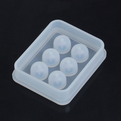 Silicone Resin Mould – Sphere Beads 16mm