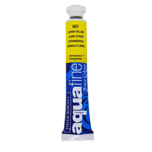 Aquafine Watercolour 8ml tube – Lemon Yellow #651