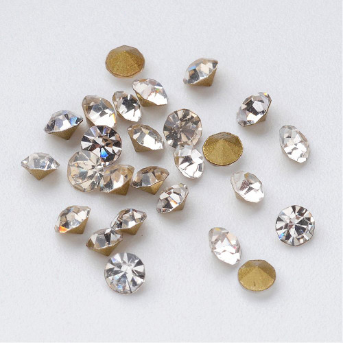 Rhinestone Crystal Glass Stones 2.3-2.4mm 1440 pieces