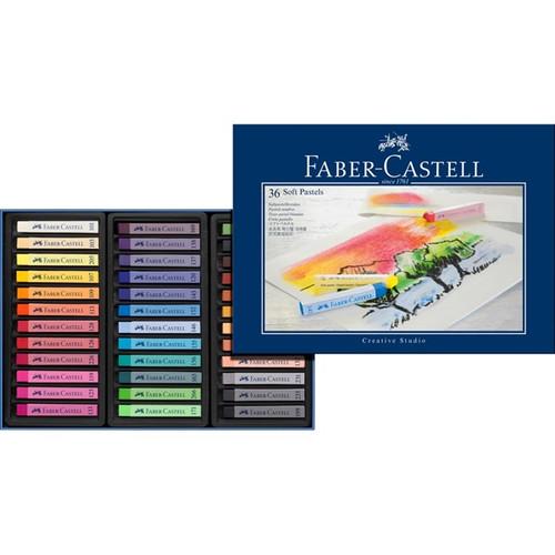 Faber-Castell Soft Pastels Set 36/pkg #128336