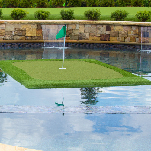 "The 6' x 8' Floating Golf Green - ""Tour"""