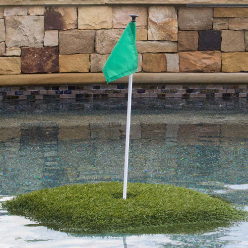 """3' x 3' Floating Golf Green - The """"Ace"""" Floating Green"""