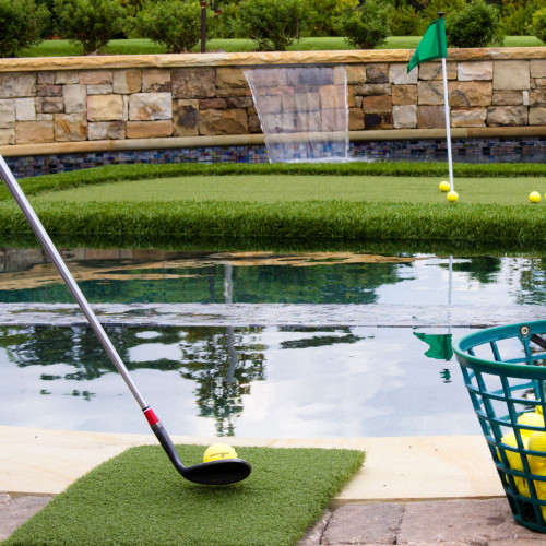Floating Golf Green Teebox