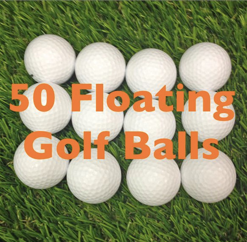 50 - Floating Golf Balls
