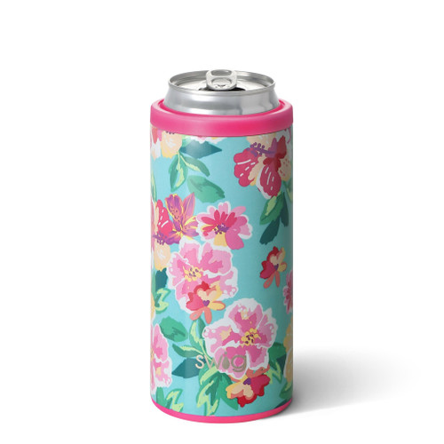 Swig Island Bloom Slim Can Cooler