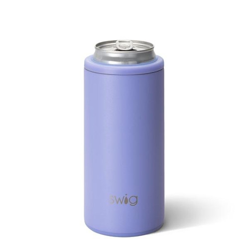 Swig slim can koozie is perfect for white claw, truly, or any slim can.