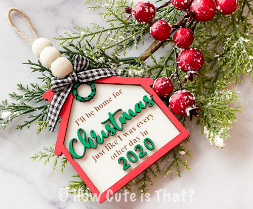 Celebrate 2020 with this commemorate ornament digital file! We know this year has been tough for everyone but we are trying to make the best of it!