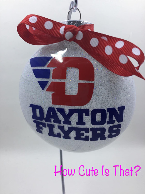 university of dayton ornament