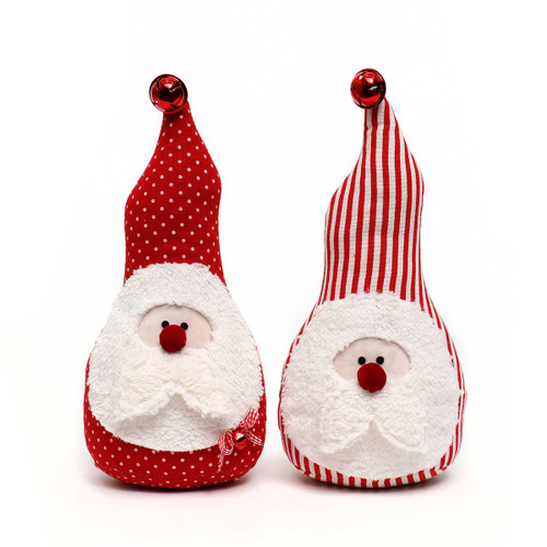 Red Santa Gnome with Bell