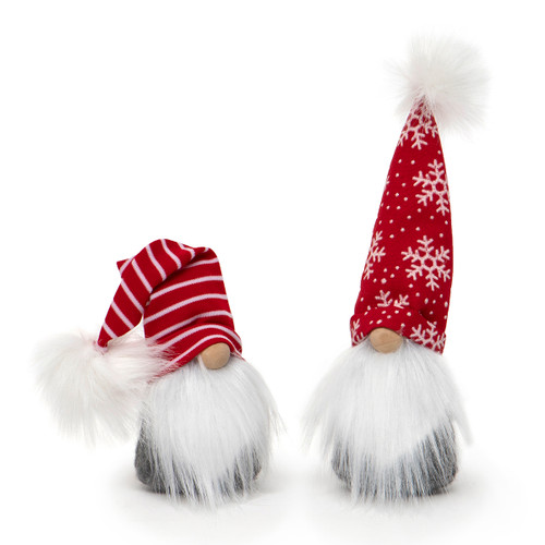 Red and white Christmas gnome