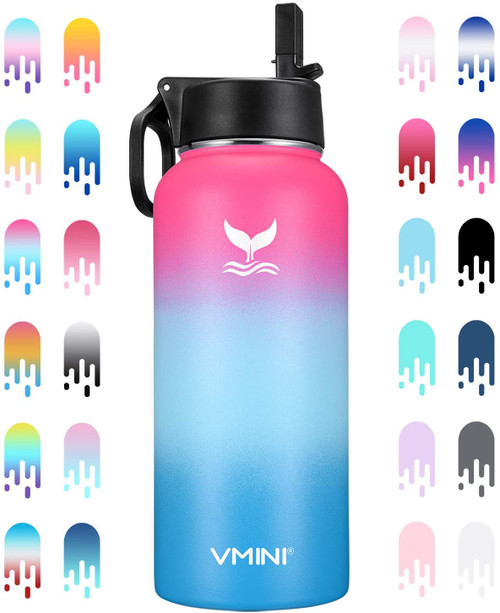 Vmini water bottles are made of high quality stainless steel material, which is sturdy and durable.