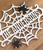 Personalized Halloween spider web for Your mantel.