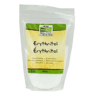 NOW Erythritol natural sugar substitute 454 grams Canada