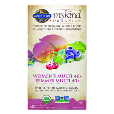 Garden of Life MyKind Organics Women's Multi 40+  Canada
