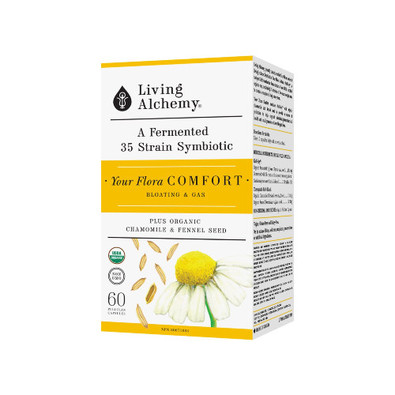 Your Flora Comfort Plus Organic Chamomile and Fennel 60 pullulan caps