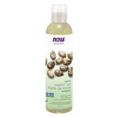 NOW Organic Castor Oil 100 Pure 237 ml