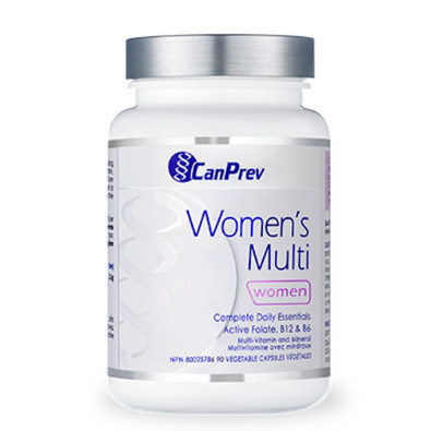 CanPrev Women's Multi Complete Daily Essentials 90 vegetable capsules