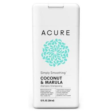 Acure Simply Smoothing Coconut & Marula Shampoo 354ml