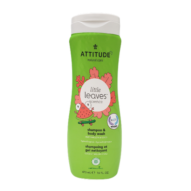 Attitude Little Leaves 2-in-1 Shampoo & Body Wash Canada 473 ml