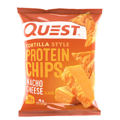 QUEST Nacho Cheese Tortilla Style Protein Chips